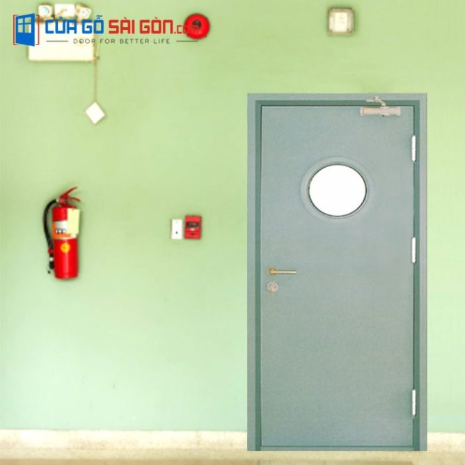 Cửa thép chống cháy TCC-P1GO tại cuagosaigon.com uy tín chất lượng
