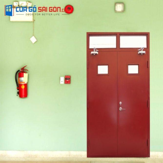 Cửa thoát hiểm & chống cháy cao cấp tại cuagosaigon.com uy tín chất lượng, giá thành hợp lí và nhiều sự lựa chọn đa dạng với sự chăm sóc tận tình.