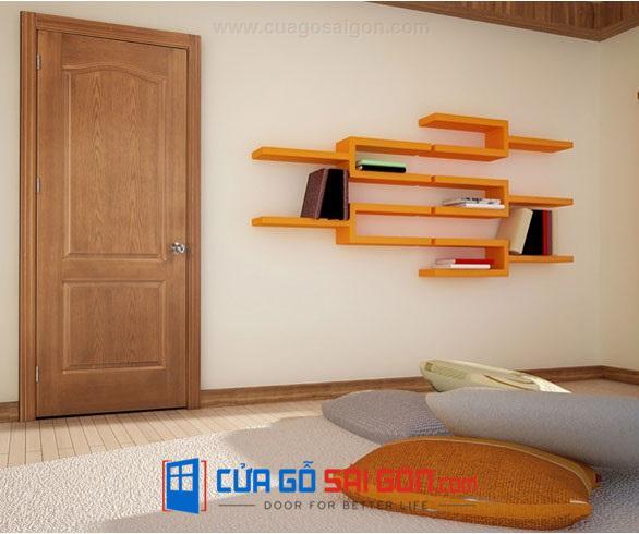 Cửa gỗ HDF VENEER 2A Căm xe - 0933.707.707 -0834.715.715