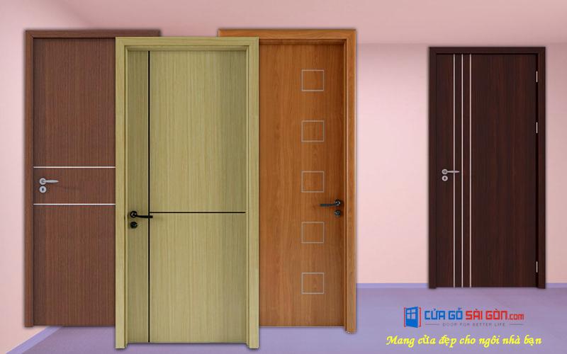Cửa gỗ phòng ngủ kiểu dáng đẹp