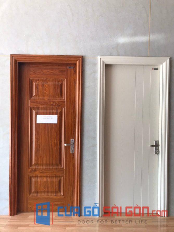 cửa thép vân gỗ SGD 16