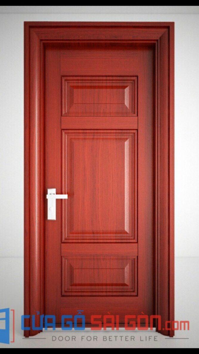 cửa thép vân gỗ SGD 17