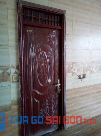 cửa thép vân gỗ SGD 19