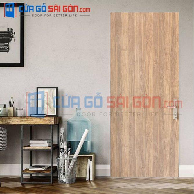 Cửa gỗ chống cháy GCC.P1-WALNUT