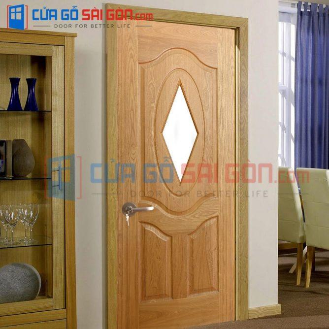 Cửa gỗ HDF VENEER HDF.3B.GO-ASH