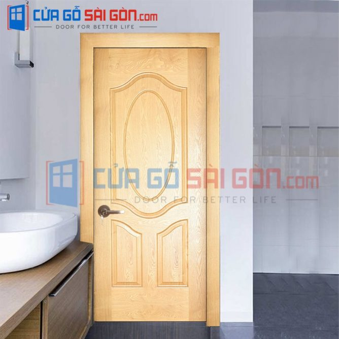 Cửa gỗ HDF VENEER HDF.3BO-ASH