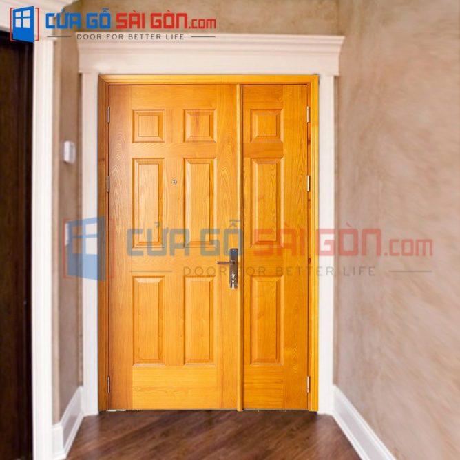 Cửa gỗ HDF VENEER HDF.MBC.V9A-ASH