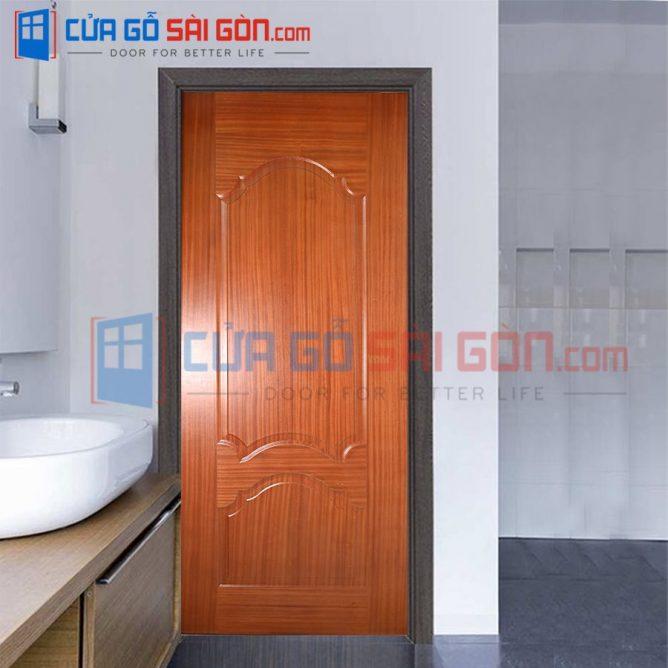 Cửa gỗ HDF VENEER HDF.V2A-SAPELE