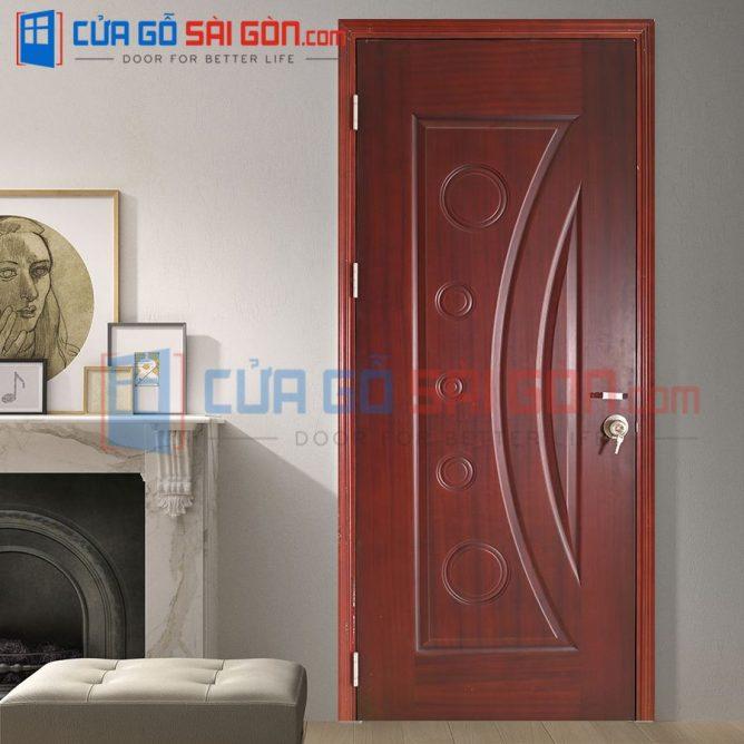 Cửa gỗ HDF VENEER HDF.V3A-Xoandao