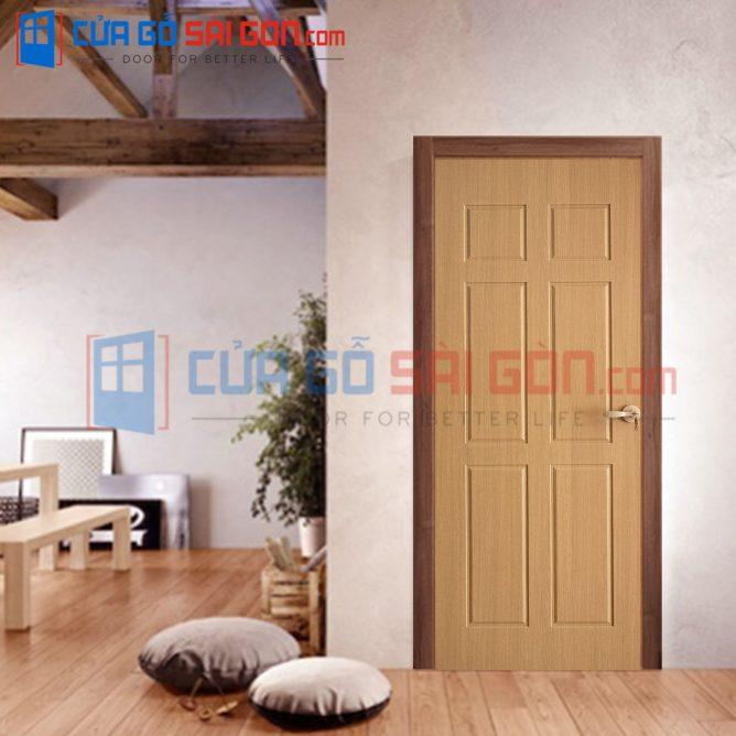 Cửa gỗ HDF VENEER HDF.VP6B-ASH