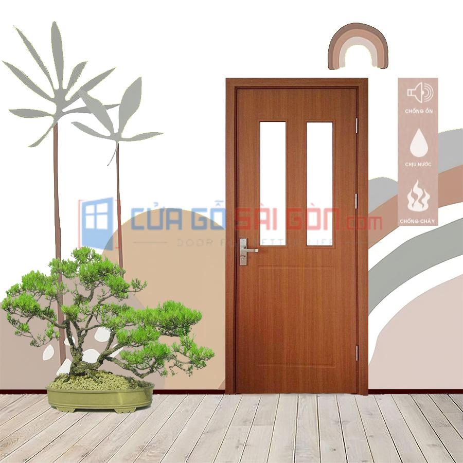 Giá thành của cửa nhựa gỗ composite rẻ hơn rất nhiều