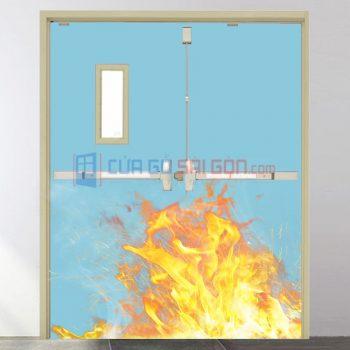 Cửa thép chống cháy là gì? [TẤT TẦN TẬT] Những đặc điểm cơ bản của loại cửa này