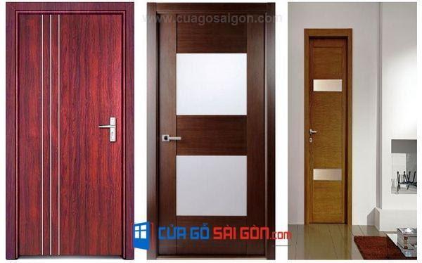 báo giá cửa gỗ công nghiệp Sài Gòn