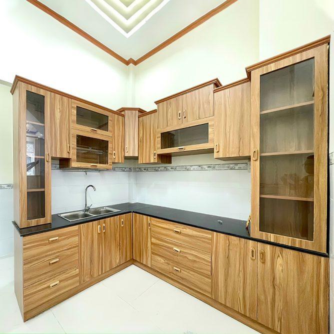 Mẫu thiết kế tủ kệ bếp đẹp 45