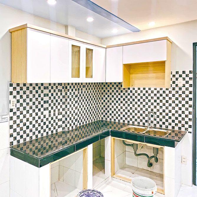 Mẫu thiết kế tủ kệ bếp đẹp 62