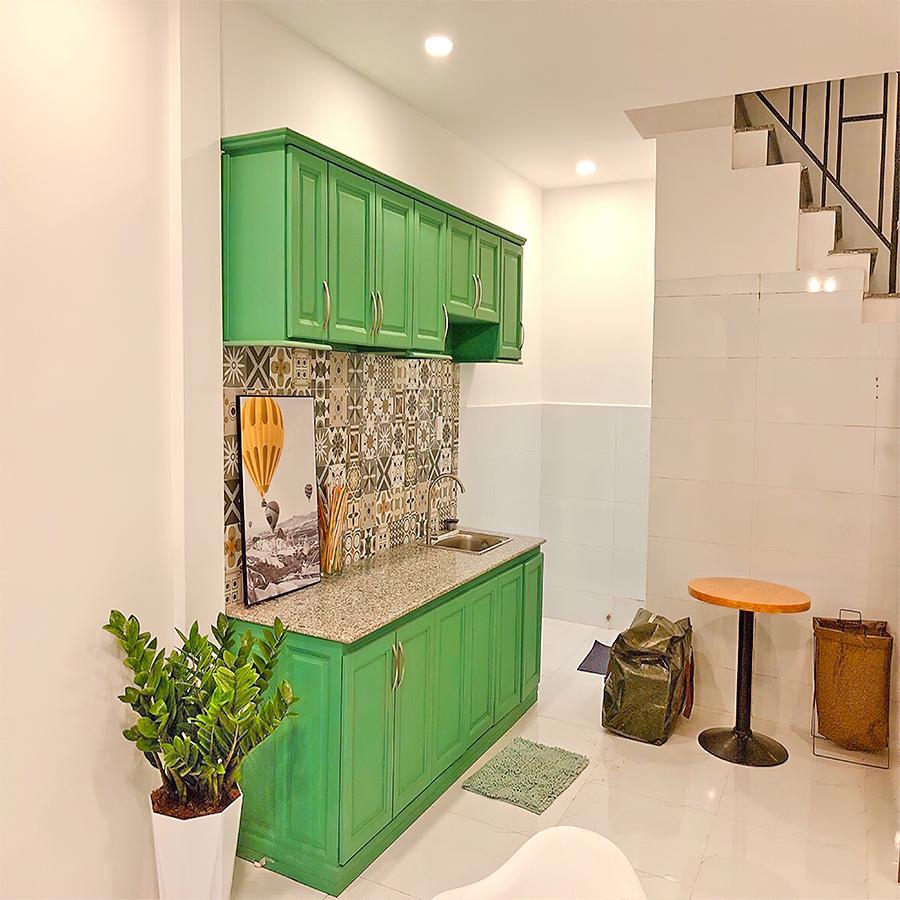 Mẫu thiết kế tủ kệ bếp đẹp 63