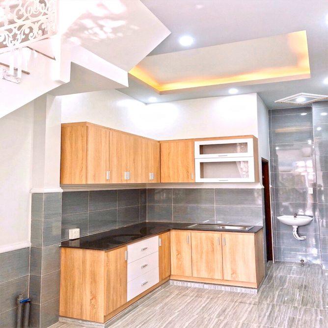 Mẫu thiết kế tủ kệ bếp đẹp 67