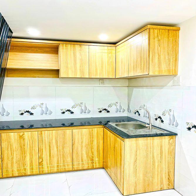 Mẫu thiết kế tủ kệ bếp đẹp 80