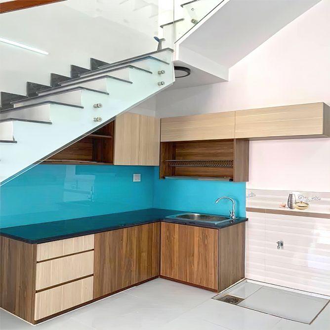 Mẫu thiết kế tủ kệ bếp đẹp 83