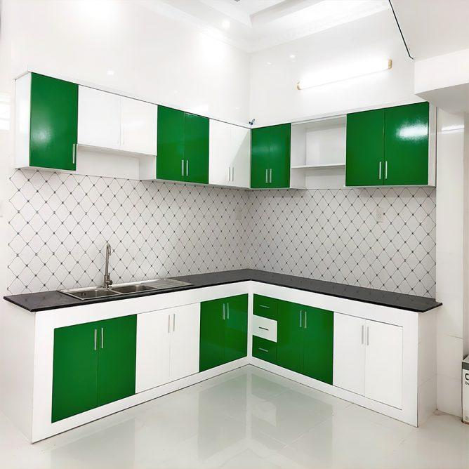 Mẫu thiết kế tủ kệ bếp đẹp 85
