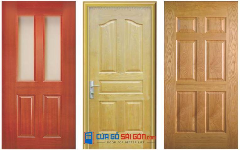 Cửa MDF Melamine đa dạng về màu sắc và vân gỗ