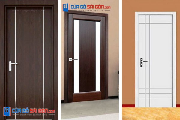 Kiểu dáng cửa khác nhau cũng có giá thành khác nhau