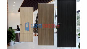 Còn cửa gỗ MDF thường được sử dụng trong các nhà ở, chung cư.