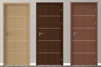 Gợi ý 20+ mẫu cửa nhựa gỗ composite đẹp nhất 2021