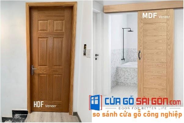 Những điểm chung của hai dòng cửa gỗ công nghiệp MDF & HDF