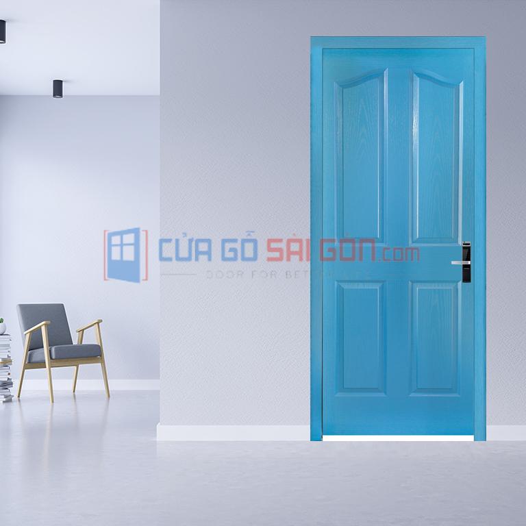 Cửa thông phòng bằng cửa gỗ công nghiệp HDF