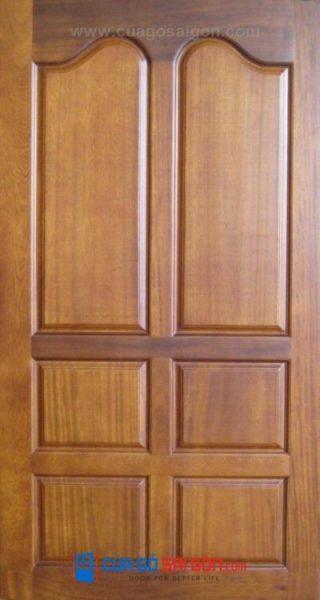 Mẫu cửa gỗ tự nhiên 043