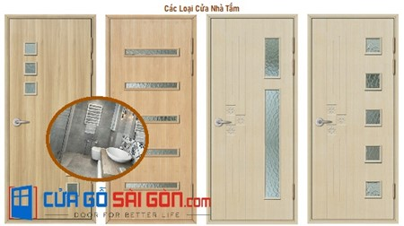Hai mẫu cửa nhà tắm đẹp tại cuagosaigon.com