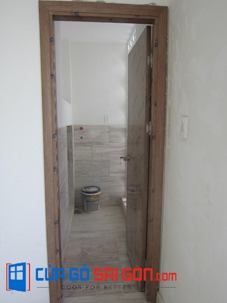 Hình ảnh thực tế công trình lắp đặt cửa nhà tắm