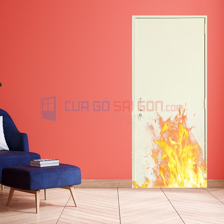 Nhược điểm của cửa thép chống cháy