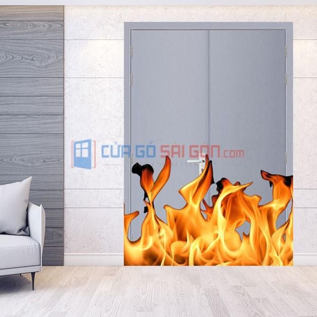 Cửa gỗ chống cháy bảo vệ gia đình bạn khỏi hỏa hoạn