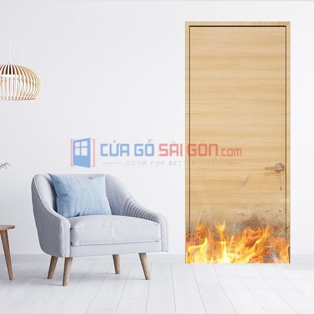 Cửa gỗ chống cháy phù hợp với mọi môi trường