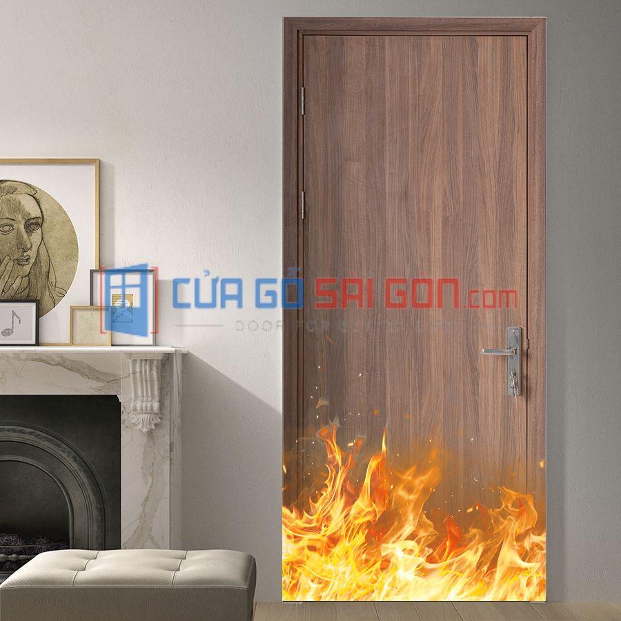 Cửa gỗ chống cháy uy tín, chất lượng