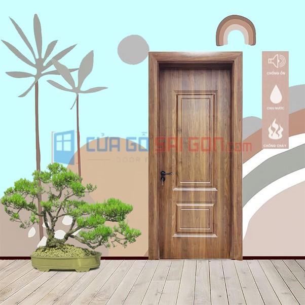 Cửa thông phòng gỗ tự nhiên
