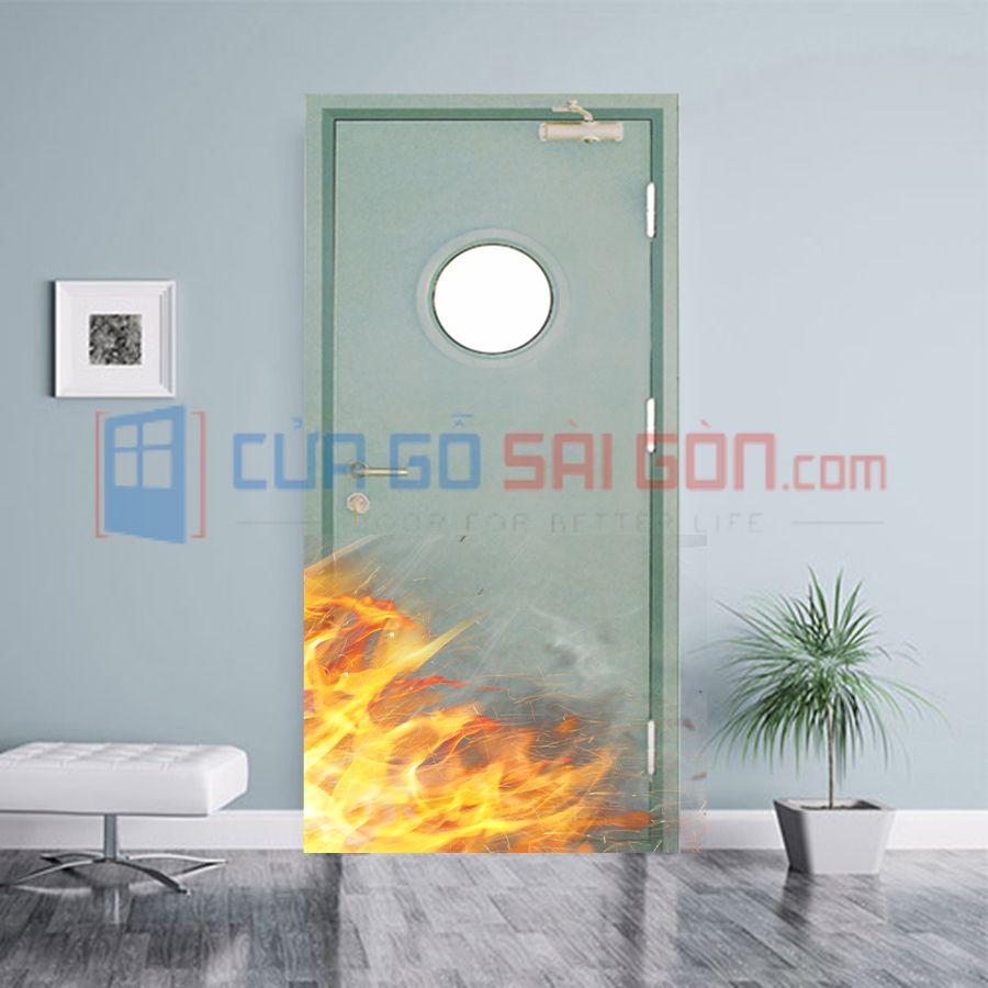 Ưu điểm của cửa thép chống cháy
