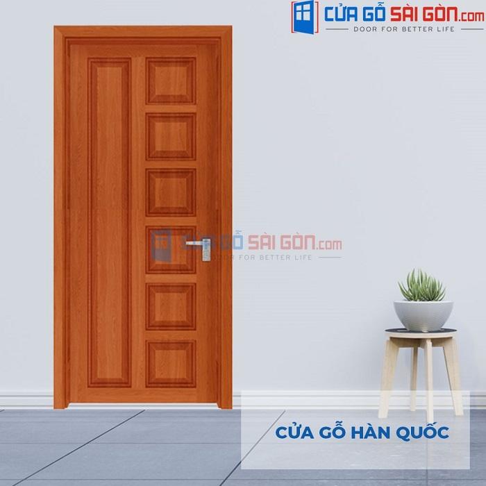 Cửa Gỗ Hàn Quốc 6B sapele CGSG