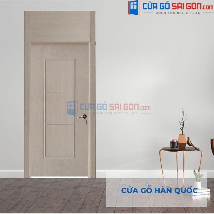 Cửa gỗ nhựa composite Hàn Quốc cao cấp
